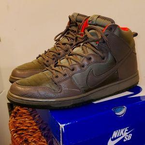 "Nike SB Hi Top Dunk ""Kozik"" in size 12 RARE"